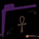 Full Size of Ankh Empty Folder (purple)