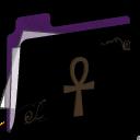 Ankh Folder (purple)