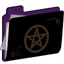 Pentacle Folder (purple)