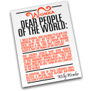 Full Size of Dear People of the World