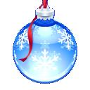 Aqua Ornament