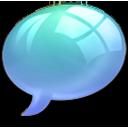 offline online Light Blue