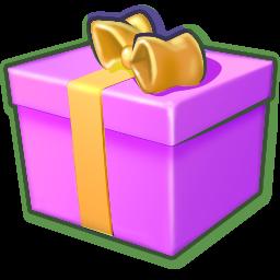 Full Size of Giftbox purple